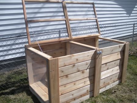 cedar compost bin plans
